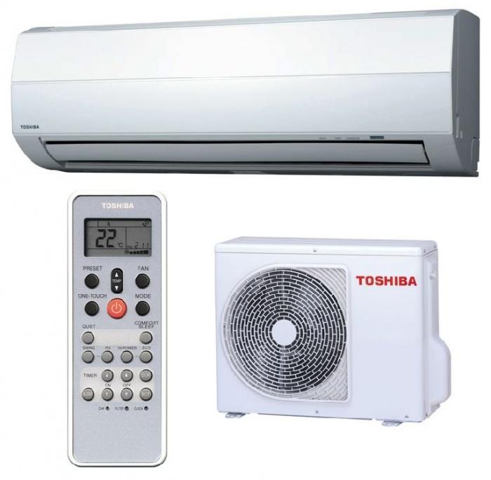 сплит системы Toshiba on/off